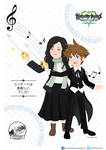 Yoko Shimomura and Sora! by StarletHeaven