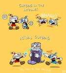 Cuphead: Internet vs Reality