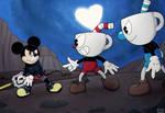 King Mickey vs the Cupbros