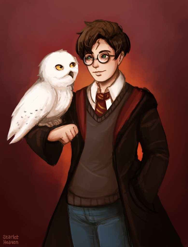 Harry potter by StarletHeaven