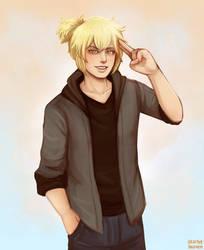 Blonde Boi by StarletHeaven