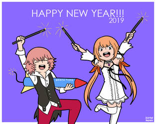 New Year 2019 by StarletHeaven