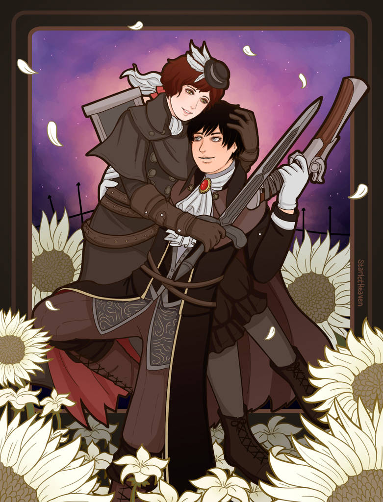 Xion and Leon by StarletHeaven