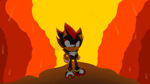 Shadow in Sonic Mania Adventures