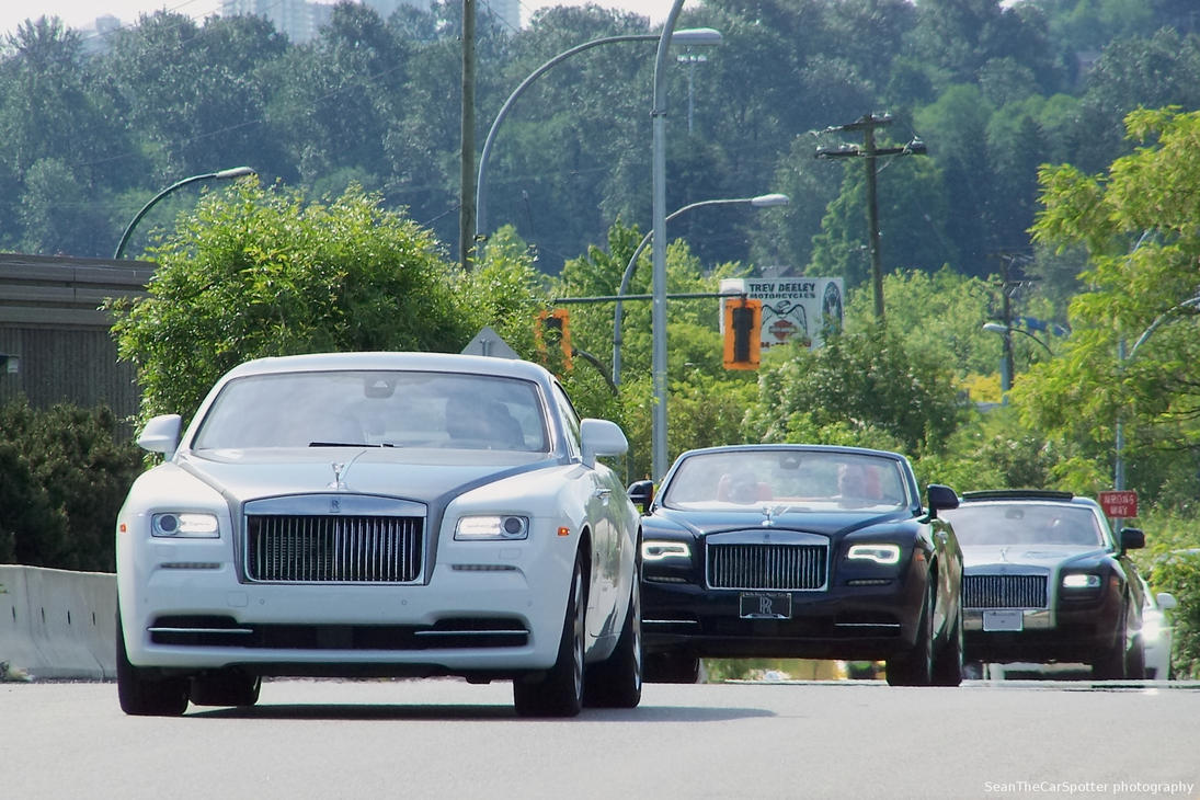Rolls Royce by SeanTheCarSpotter