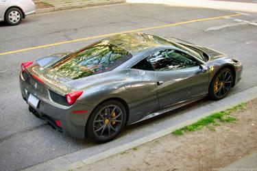 Grey 458 Italia