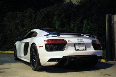 Night time R8 V10 Plus