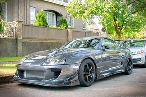 Grey Super Supra by SeanTheCarSpotter