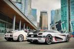 Agera RS Vs Veyron Grand Sport