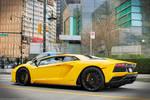Yellow Aventador LP740 S