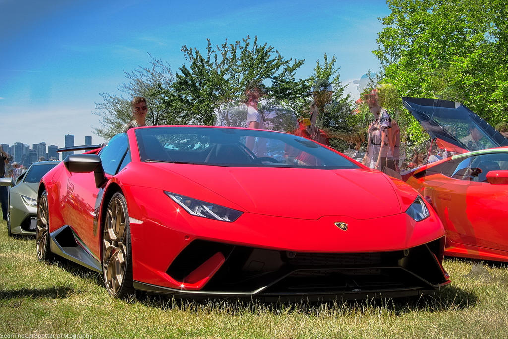 Huracan Performante Spyder by SeanTheCarSpotter