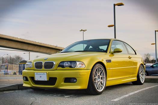 Golden E46 M3