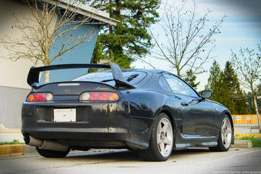 Black Supra by SeanTheCarSpotter