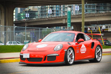 Lava Orange GT3 RS by YukiTheCarSpotter