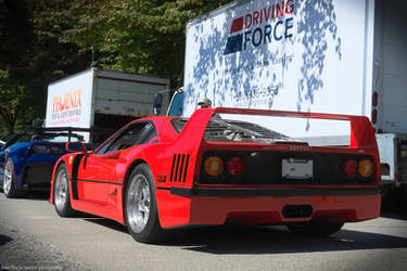 Ferrari F40 by SeanTheCarSpotter