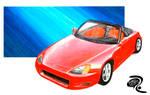 Rendering: Honda Car