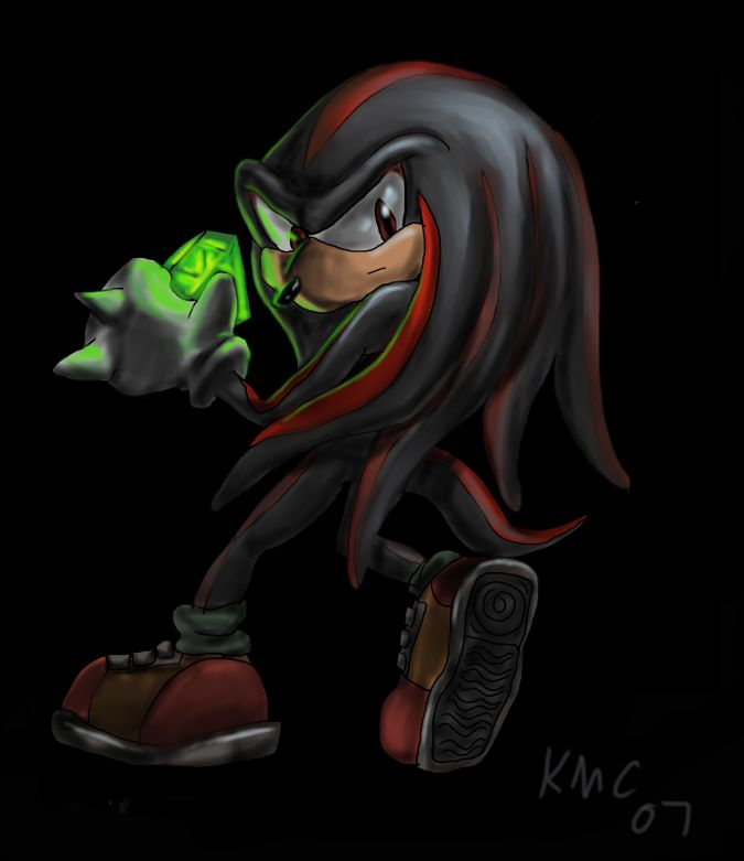 Shadow Knuckles by NetRaptor on DeviantArt