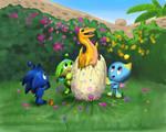 Easter hatchling