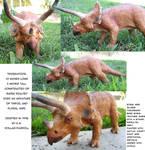 Sculpture: Triceratops
