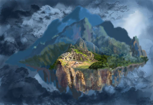 Failed matte painting