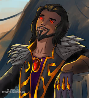 Wrathion from World of Warcraft