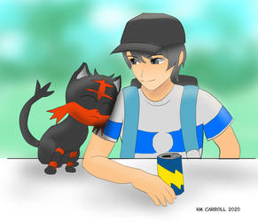 Pokemon trainer giftart