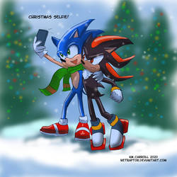 Sonic - Christmas selfie