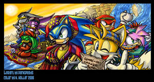 Alibaba Sonic - collab contest by NetRaptor
