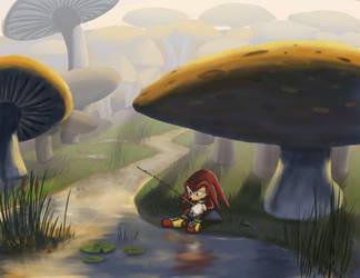 Mushroom Dawn by NetRaptor