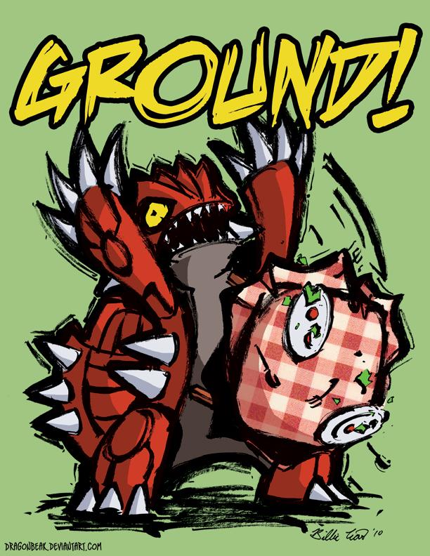 GROUUUND by DragonBeak