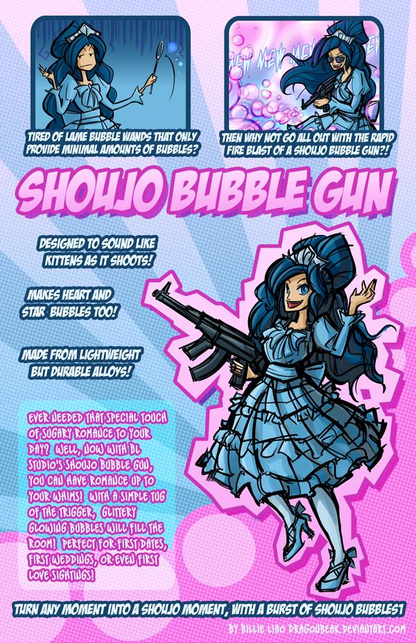Shoujo Bubble Gun by DragonBeak