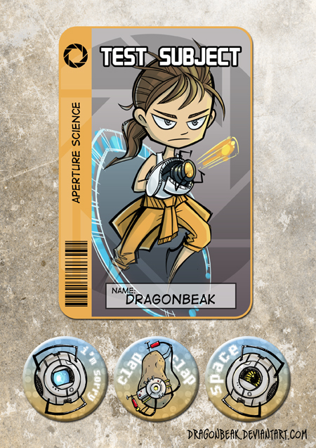 Portal Badges n Buttons by DragonBeak