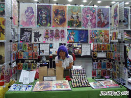 Otakon Table 2012 by DragonBeak