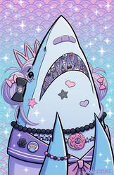 Sweet Lolita Shark by DragonBeak