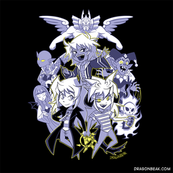 Triple Threat Bakura - Shirt Design