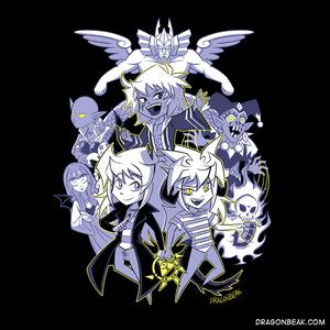 Triple Threat Bakura - Shirt Design