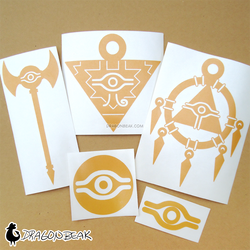 Millennium Item Vinyl Decals