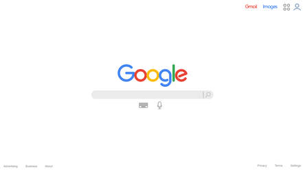 Google Browser Concept Layout