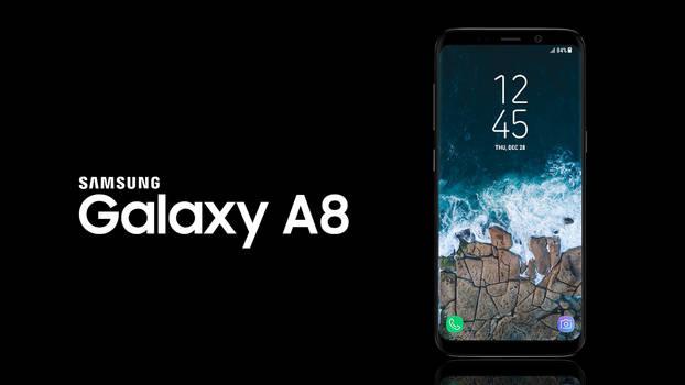 Samsung Galaxy A8 (2018) Concept by KaKoten