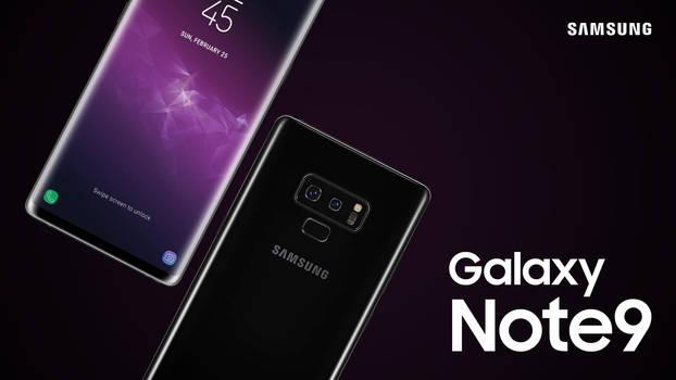 Samsung Galaxy Note9 Concept