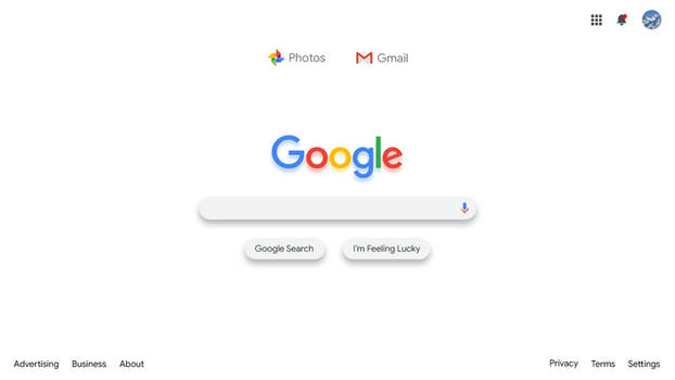 Google Search Material Design 2.0 Layout Concept