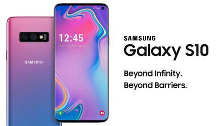 Samsung Galaxy S10 Concept Design