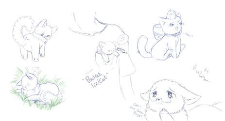 Random Nekotalia sketches