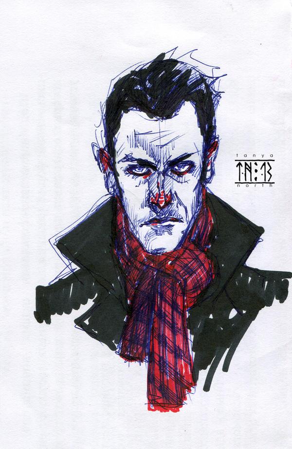 CBS Elementary - Sherlock Holmes by TanyaNorth