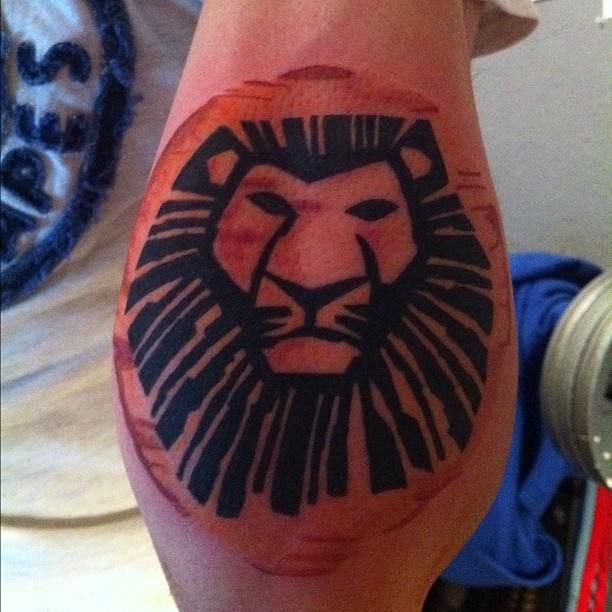 Lion King Tattoo By Zero1er On Deviantart