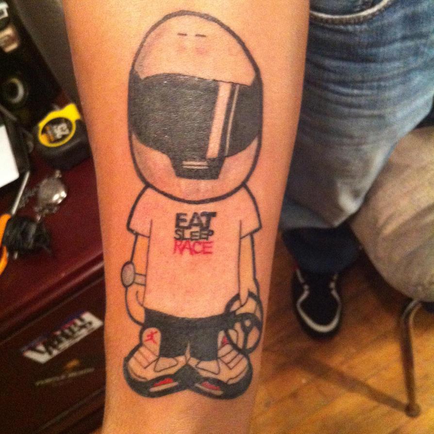 eat sleep race tattoo -#main