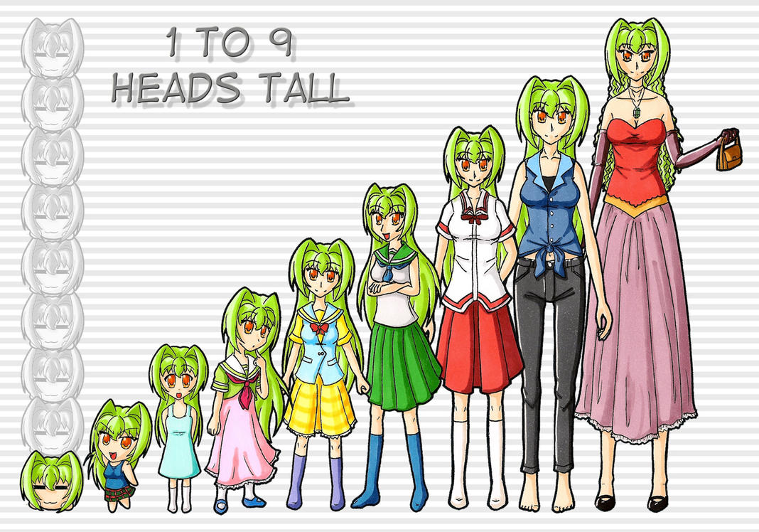 6 Foot Tall Anime Characters : To heads tall challenge by puremrz on deviantart
