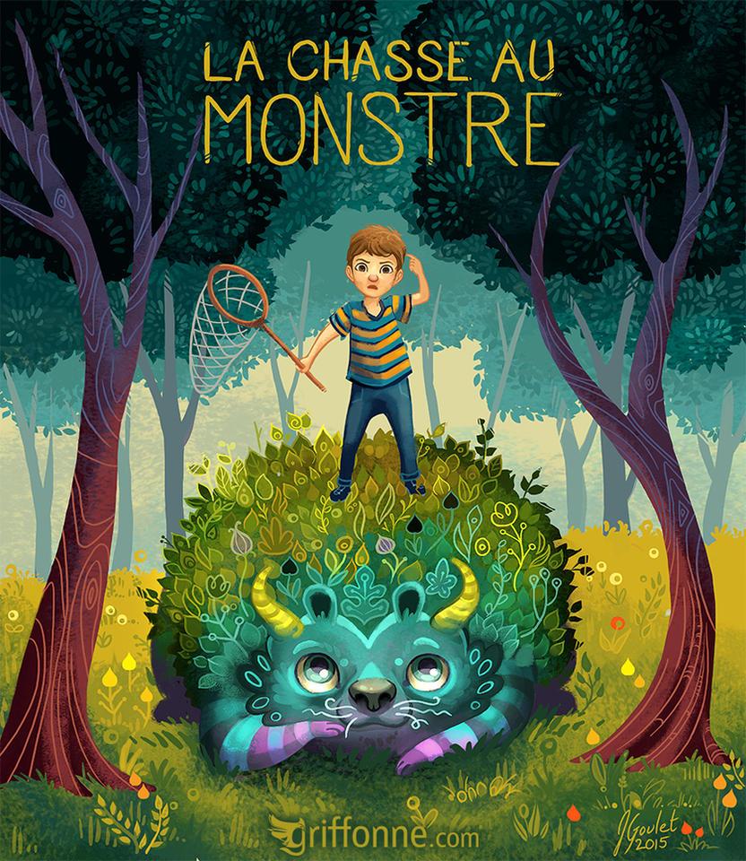 La chasse au monstre by joanniegoulet