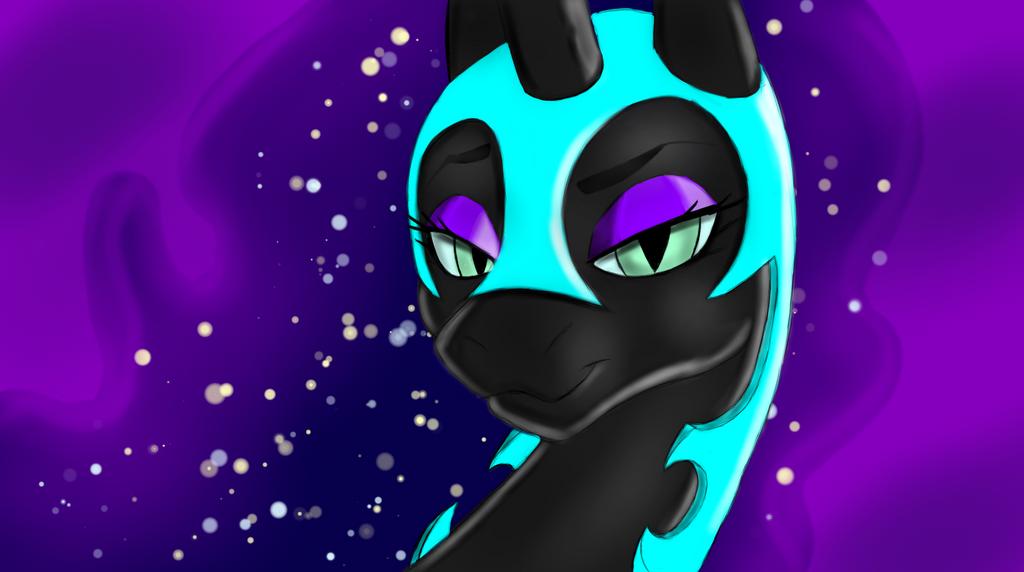 NightMare Moon BG again by Facelessguru