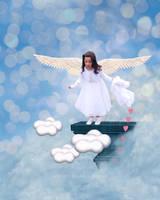 Flying Angel... by WhiteBook
